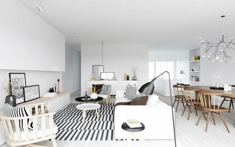 Salon comedor peque o 25 ideas que te impresionaran - Decoracion de salon comedor moderno ...