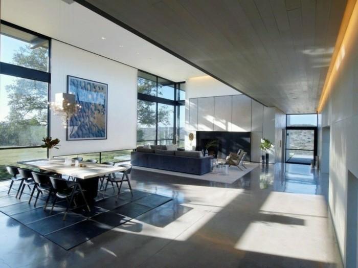 salon grande estilo moderno lujoso