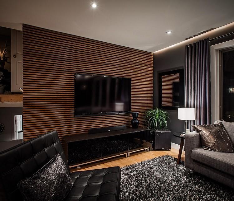 salon moderno sala estar pequeña