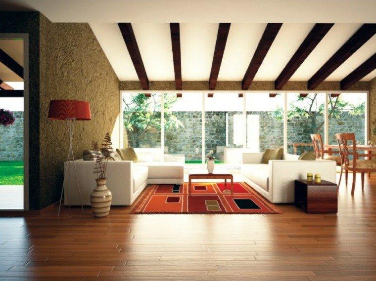 salon terraza casa deco campo