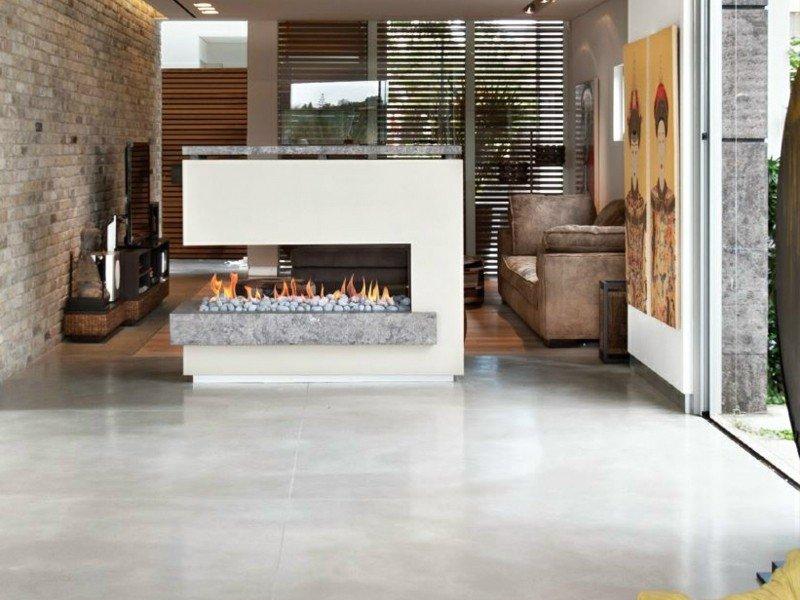 salones chimenea modernos cuadros decorativos ideas