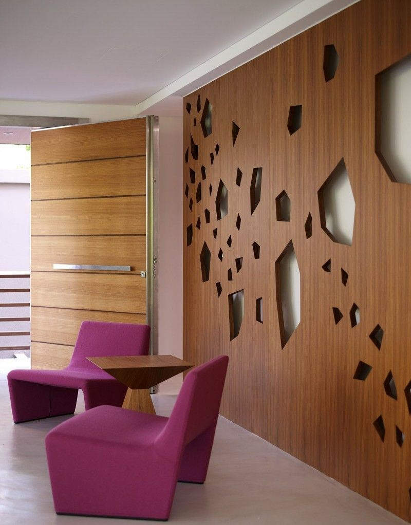 salones decoracion diseno pared madera ideas