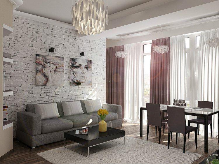 salones estetica estilo moderno cuadros decorativos ideas