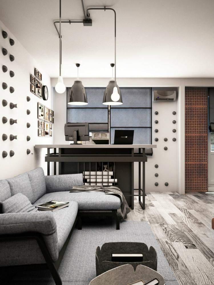 salones estetica estilo moderno decoracion pared ideas