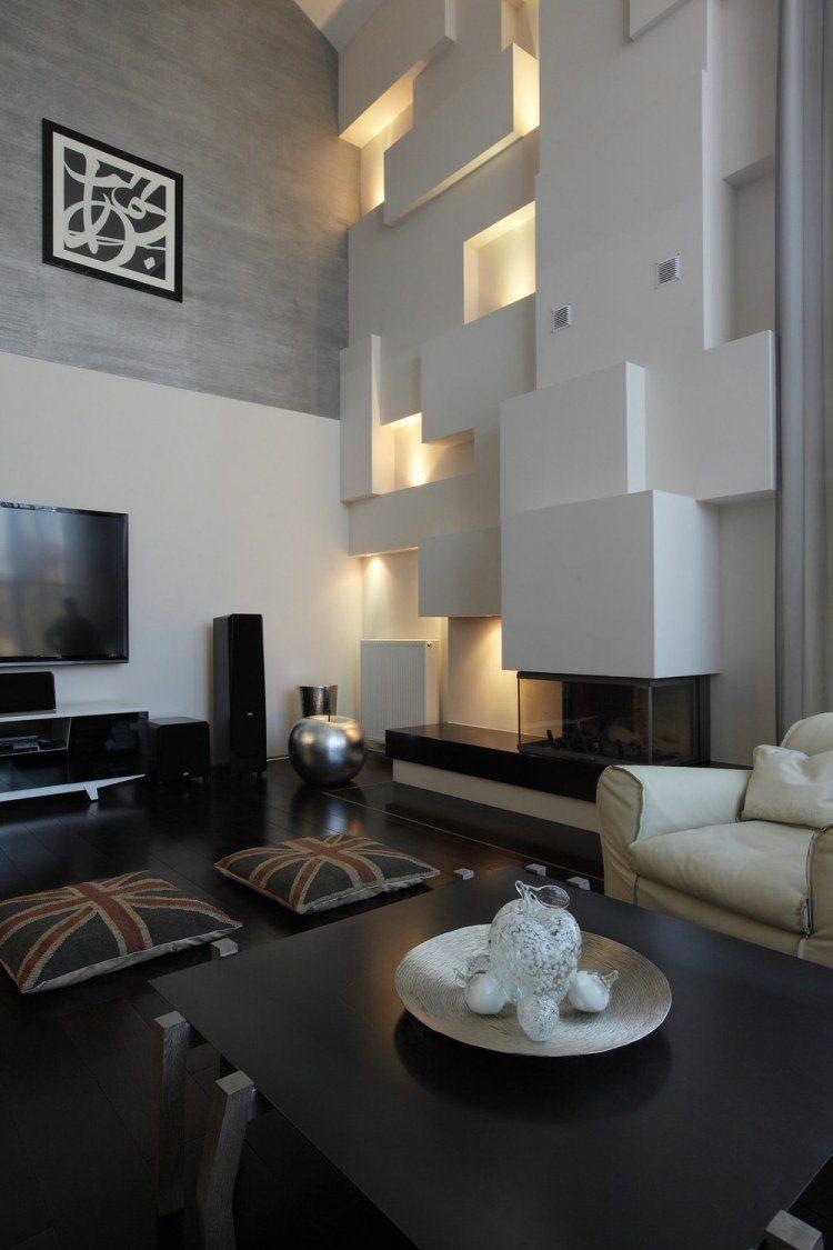 salones estetica estilo moderno iluminacion LED ideas
