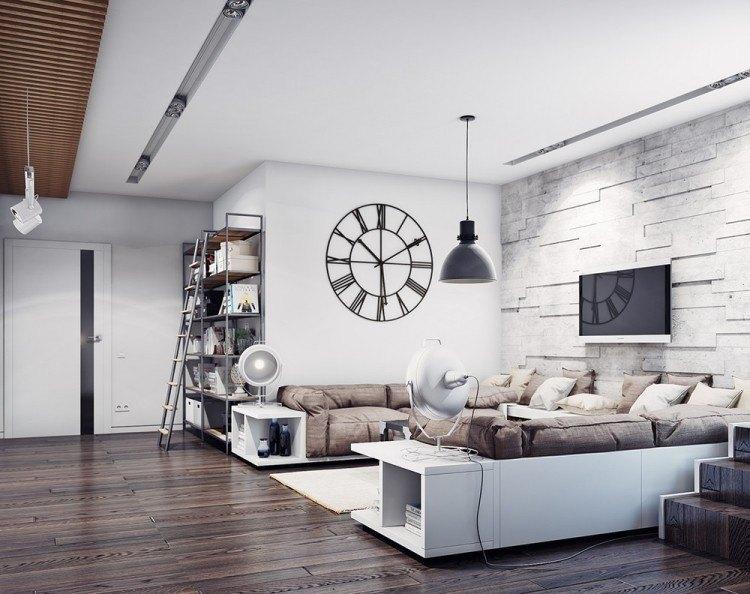 salones estetica estilo moderno reloj precioso ideas