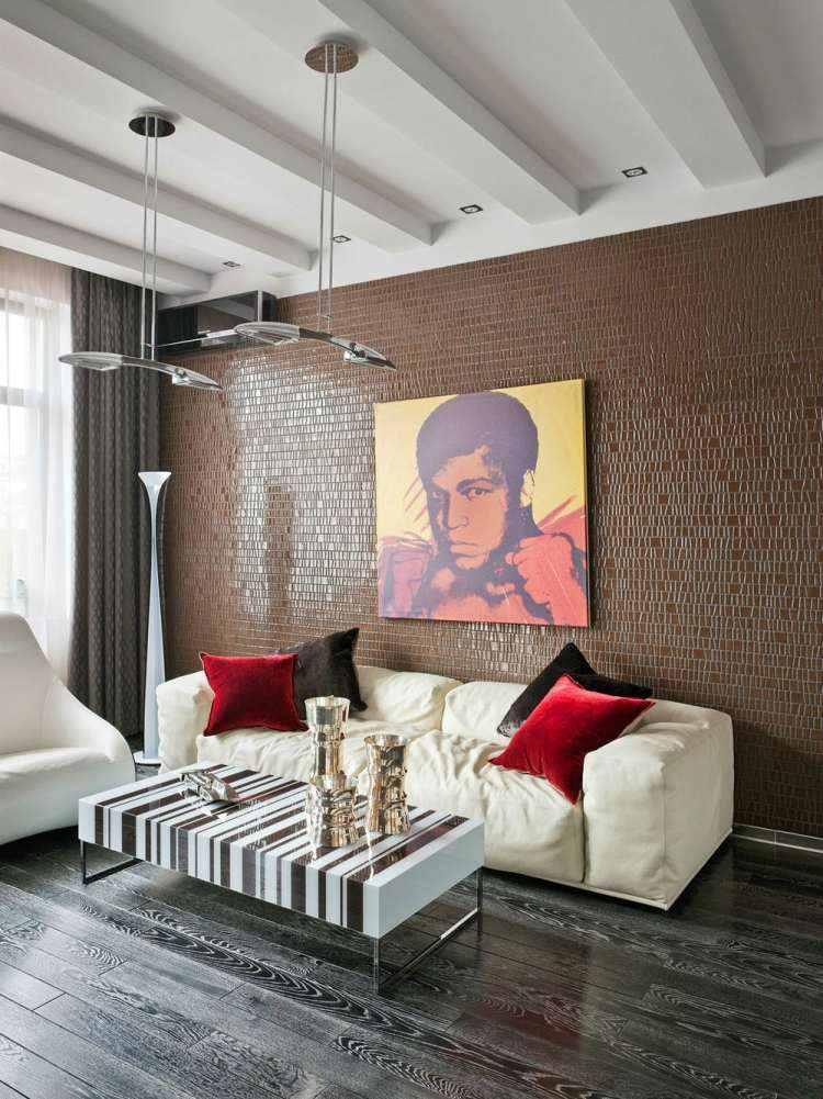 salon estetica estilo moderno sofa blanca ideas
