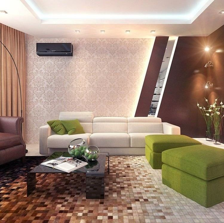 salon estetica estilo moderno taburetes verde ideas