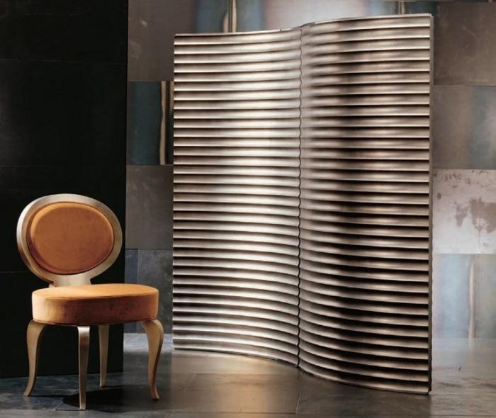 separadores de ambientes hogar moderno elegante ideas