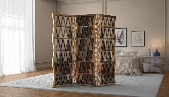separadores de ambientes hogar moderno emocionantes ideas