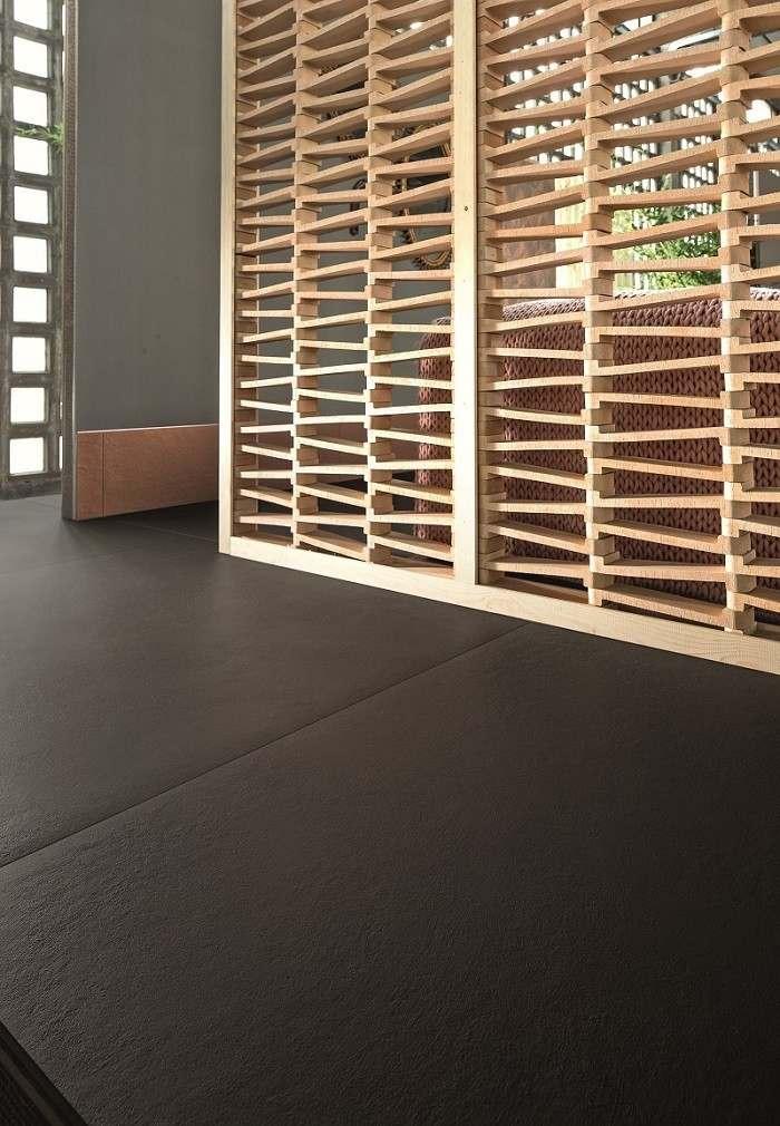 separador de ambientes hogar moderno madera natural ideas