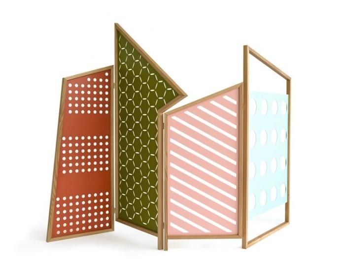 separador ambientes hogar moderno varios colores ideas