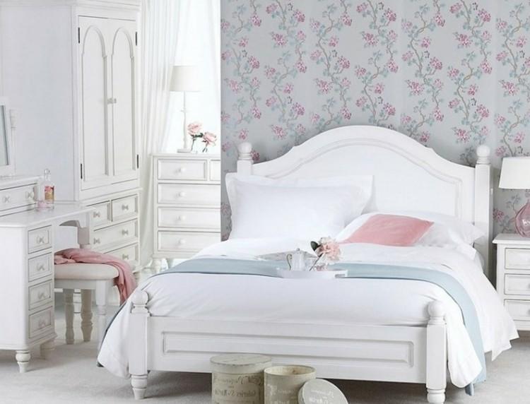 Estilo shabby chic en el dormitorio 50 ideas - Dormitorio vintage chic ...