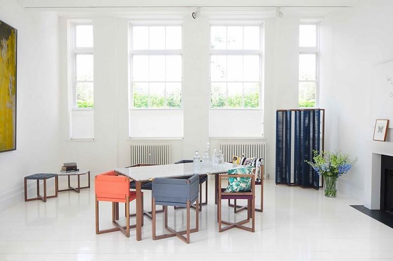 sillas mesa diseno moderno colores comedor precioso ideas