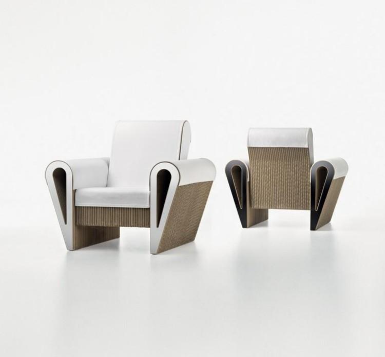 sillones diseño moderno forma libro