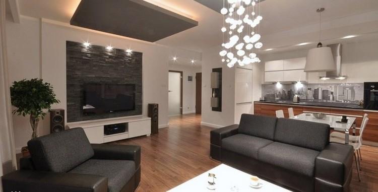 sofas energia oscura salon moderno lampara preciosa ideas