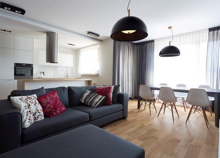 sofas energia oscura salon moderno muebles comedor ideas