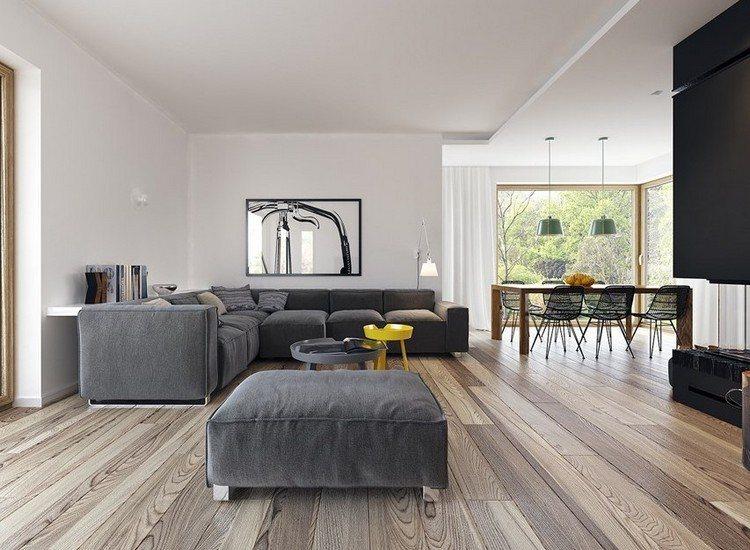 sofas energia oscura salon moderno taburete ideas