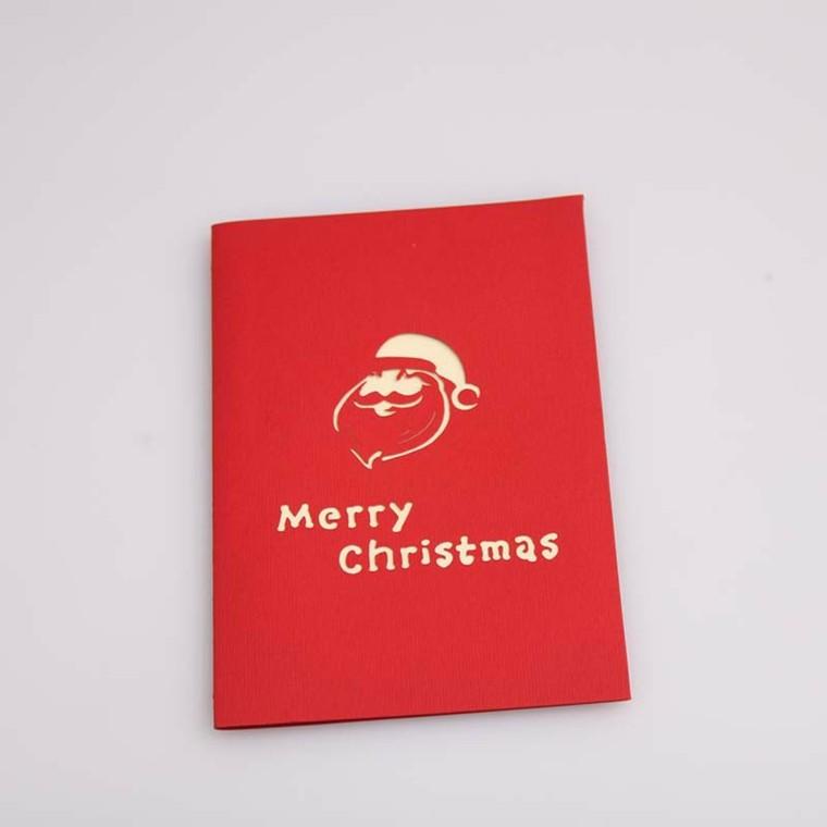 tarjeta navidad estilo minimalista moderno