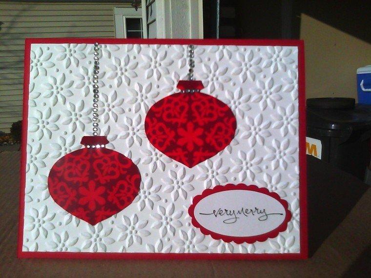 tarjetas navideñas diseño estilo casero