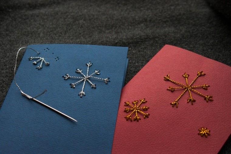 tarjetas navidaeñas diseño sencillo