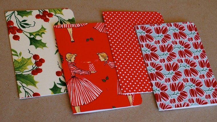 tarjetas navidad diseño estilo retro