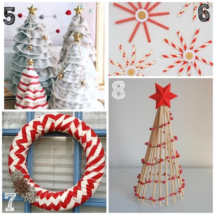 variantes decorativas creativas navidad estrella