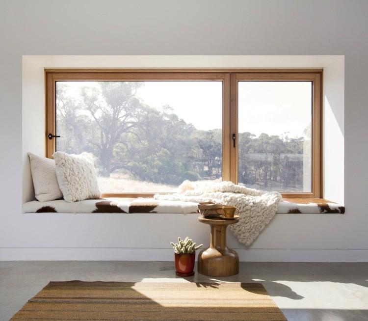 ventanas diseño asiento imagenes cuero pieles
