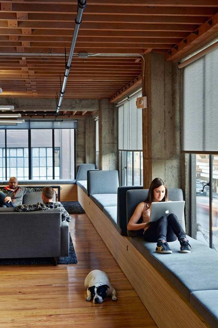 ventanas diseño asiento imagenes ideas estudio