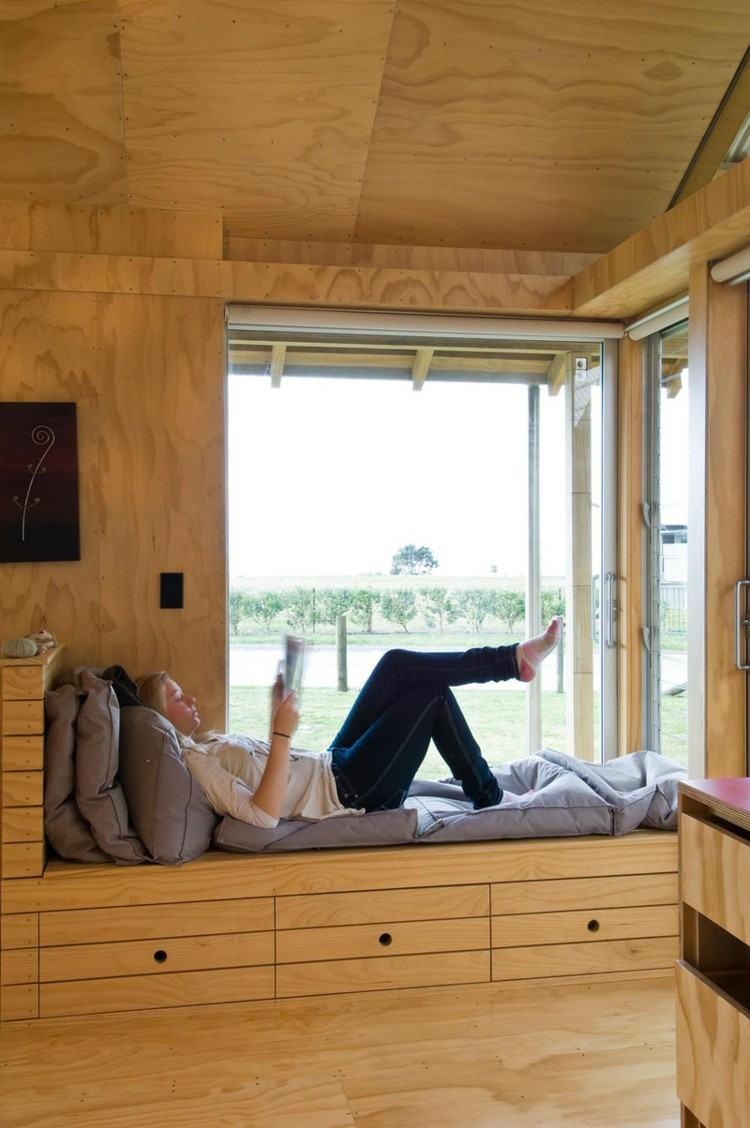 ventanas diseño asiento imagenes llamativo cojines