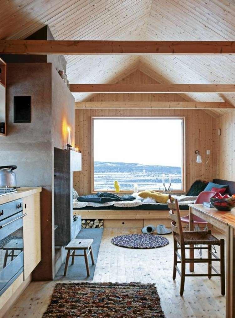 ventanas diseño asiento imagenes nieves banco