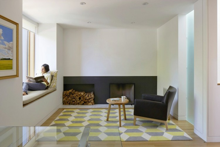 ventanas diseño asiento imagenes sillas troncos