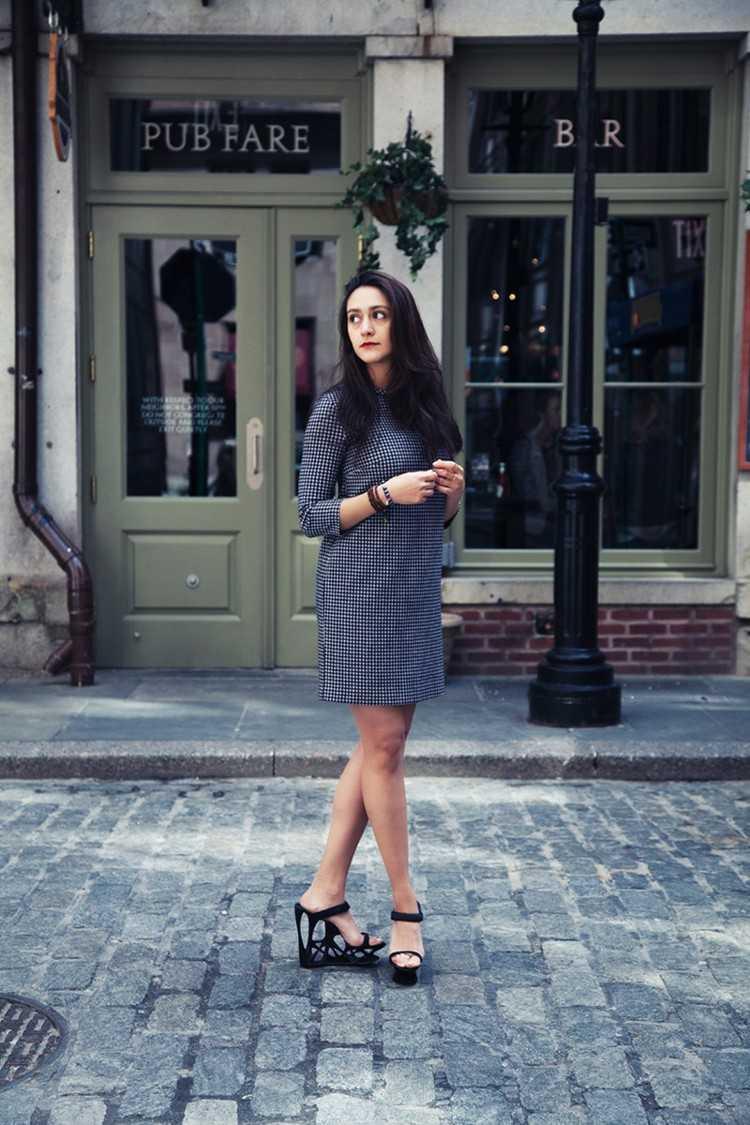 zapatos a medida ropa azul ladrillos mujer