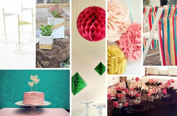 DIY decoracion ideas con papel