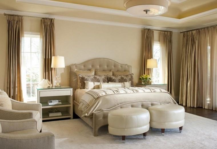 Ellen Grasso decoracion dormitorio taburetes ideas