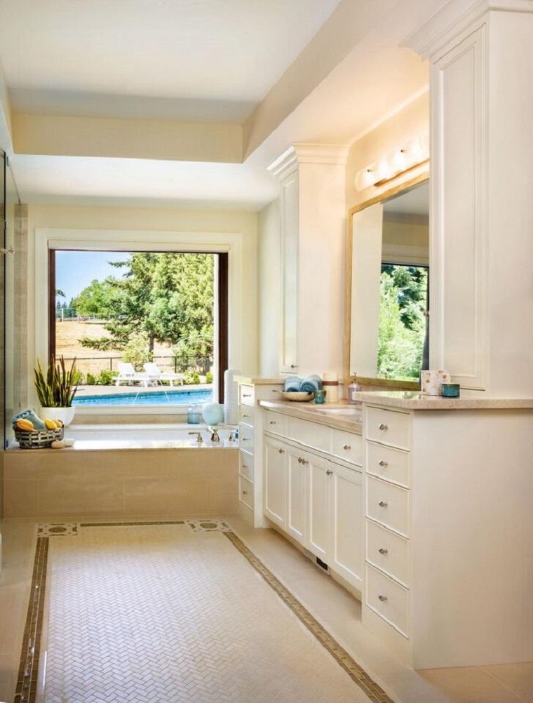 Garrison Hullinger lavabo blanco bano ideas
