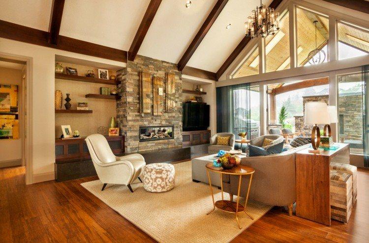Garrison Hullinger salon amplio muebles preciosos ideas