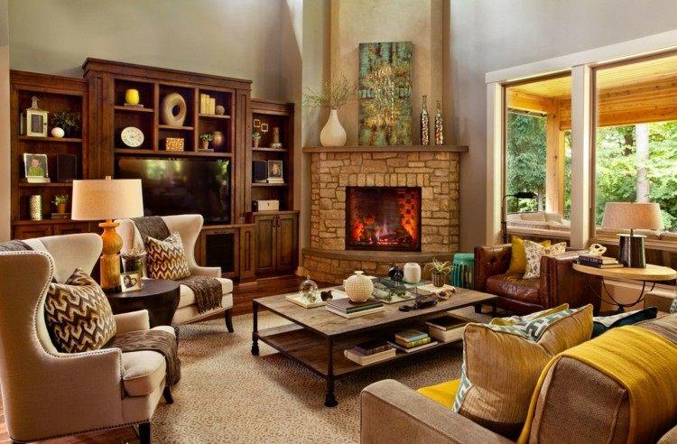 Garrison Hullinger salon estilo rustico ideas