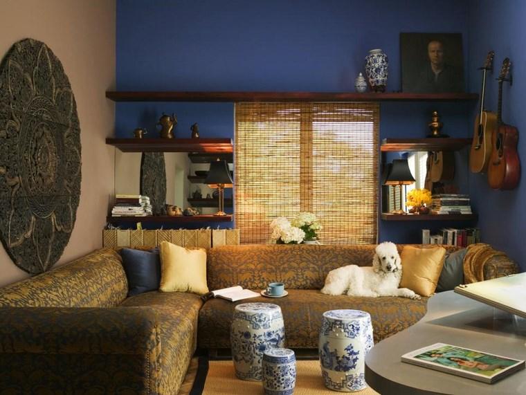 Jane Ellison elegante salon estilo asiatico ideas