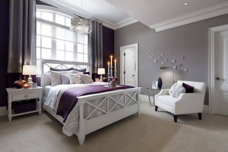Decoracion moderna para el dormitorio en 37 ideas - Dormitorio con muebles blancos ...