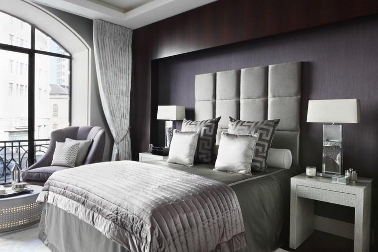 Oliver Burns respaldo cama precioso dormitorio ideas