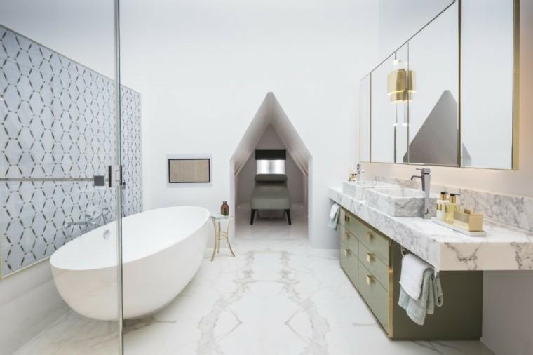 Roselind Wilson Design decoracion bano marmol ideas