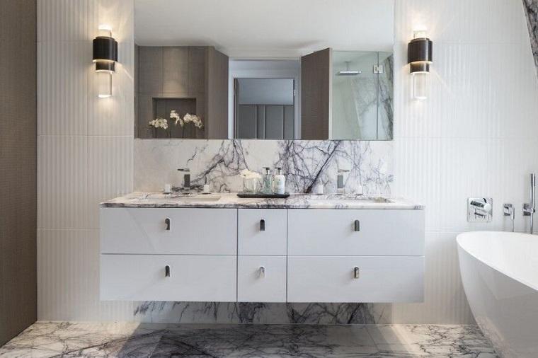 Lamparas Para Baños Modernos:Baños decoracion y diseño para espacios modernos -