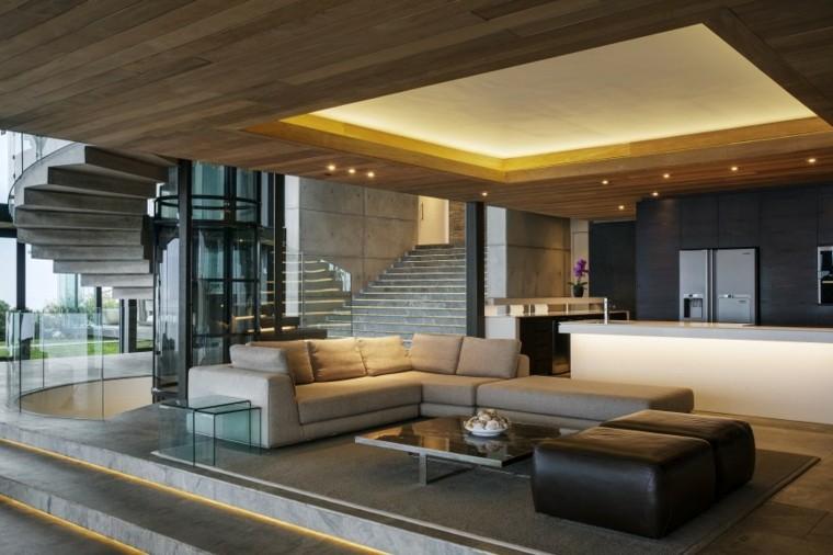 SAOTA salon amplio diseno moderno muebles preciosos ideas