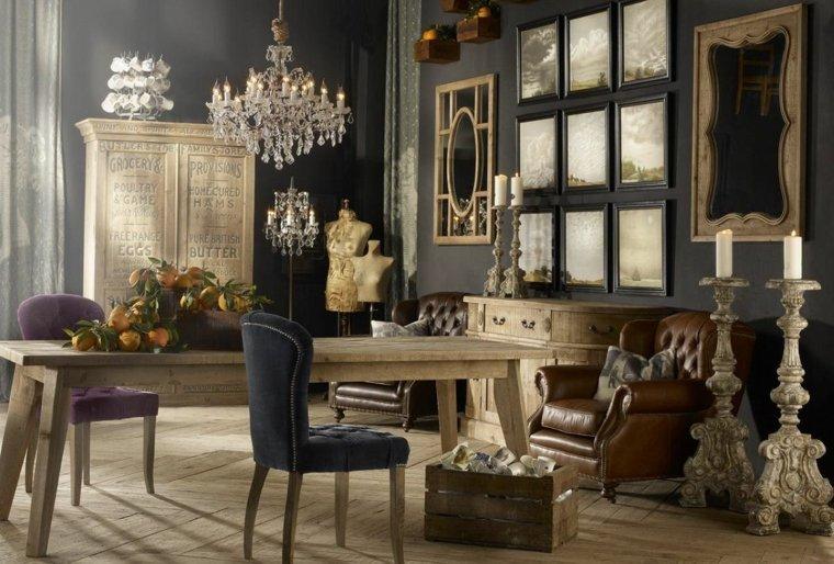 ideas de decoracion vintage para salón