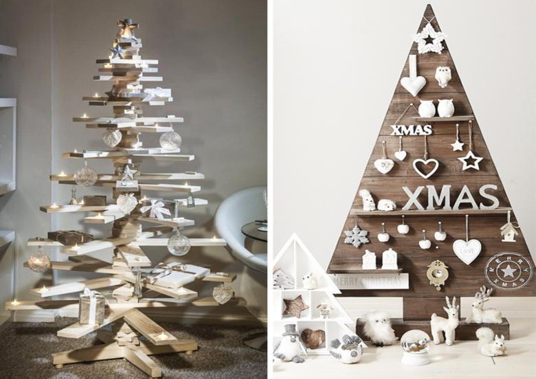 abetos navidad palet madera