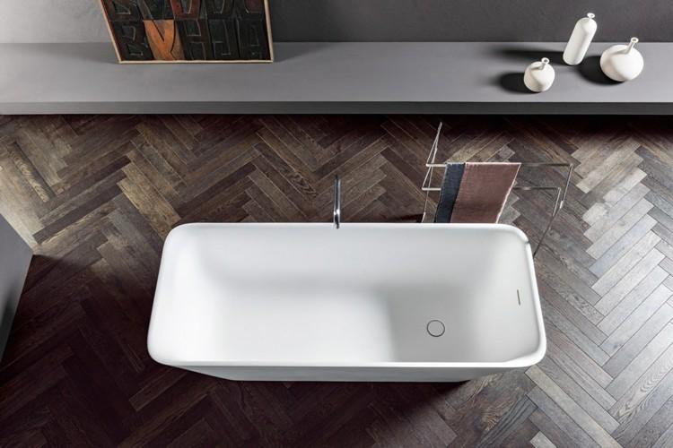 decoracion baños detalles vertyical madera