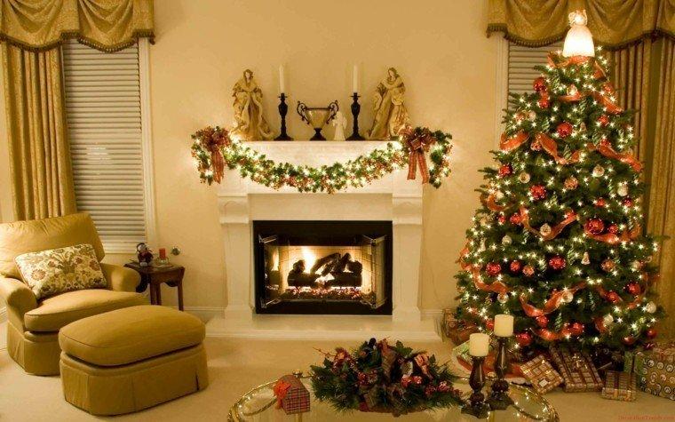decoracin navidea para saln adornos navidad decor salon