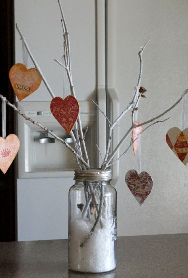 adorno casero formas corazones