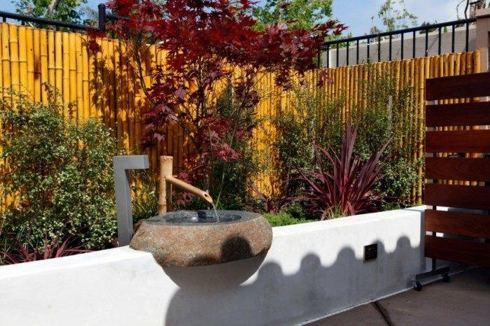 adornos jardin lavabo original ideas